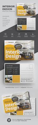 Interior Design Postcards Interior Design Postcard Cards Invites Print