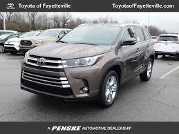 2018 New Toyota Highlander Limited V6 FWD at Fayetteville Autopark ...