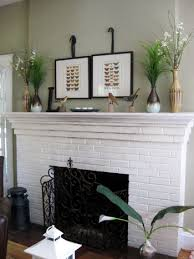 painting a fireplace whitePaint a Brick Fireplace  The Blog at FireplaceMall