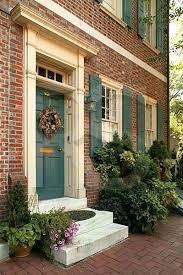 marvellous red brick house front door front door colors for brick house best color for front