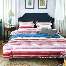 stripe duvet covers queen linen ticking