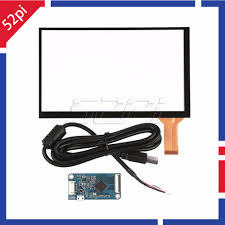 52Pi Original <b>7 inch Capacitive Touch</b> Screen Digitizer Panel Glass ...