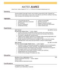 Resume Examples Of Coverletter For Resume Skills And Abilities