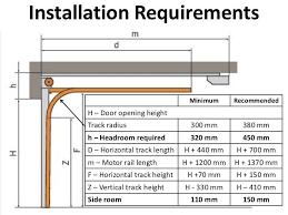 garage door height minimum google search