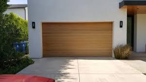modern garage door. Modern Wall Sconce Garage With Light Wood Los Angeles Building Supplies For Door Decorations 6