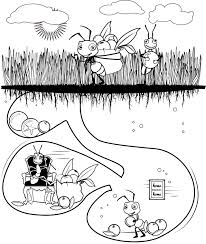 Small Picture Ant Coloring Pages Ant Coloring Pages To Printgif clarknews