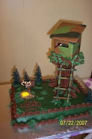 Deer Hunting Cake Would So Love To Do This For My Husbands