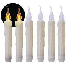 Battery Operated Window Lights Beichi 6pcs Battery Operated Window Candles Flickering