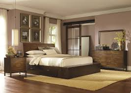complete platform queen bed with one storage drawer by legacy