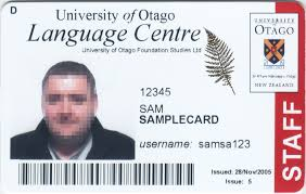 Otago Types Student Services New University Card Other Cards Of - Otago Zealand Id