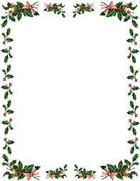 Letter Borders For Word Christmas Border For Word Xmas Borders Clip Art Letter Borders Clip