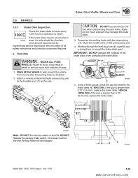 jlg skytrak telehandlers 8042 10042 10054 ansi service manual enlarge