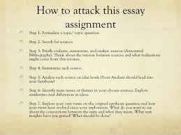 synthesis essay presentation 5