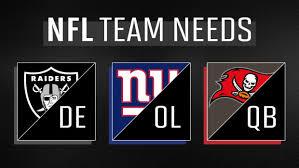 Every Nfl Teams Biggest Draft Need Sports Illustrated