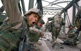 Image result for pictures of soldiers under fire