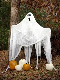 Halloween Ghost Decorations How To Make A Ghost Hgtv Halloween Props And Decorations  Scary Halloween Yard Displays
