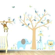 kids room amazing baby boy jungle wall decals by safari for nursery
