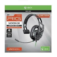 <b>Plantronics RIG 100HX</b> Camo Chat Gaming Headset for Xbox One ...