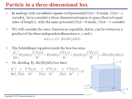particle in a three dimensional box