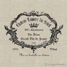 vintage french wine label instant download digital image no 27 iron on transfer to fabric burlap linen paper prints cards tags  on french wine label wall art with 21 best immortelle images on pinterest packaging design wine