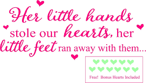 Girl Quotes And Sayings Magnificent Baby Girl Wall Quotes Nursery Wall Sayings Little Girls