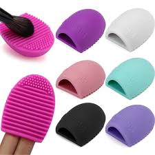 silicone makeup brush cleaning washing tool cosmetics makeup brushes scrubber board