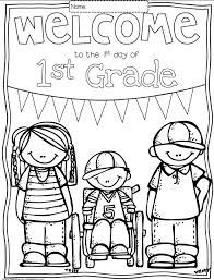 back to school coloring pages for first grade free on st grade worksheets free printables