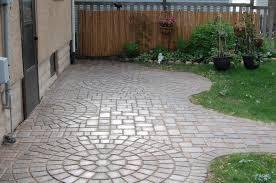 pavers cobble series color millstream autumn blend 50 50 mix pattern