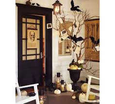 extraordinary outdoor halloween decorating ideas with yellow with