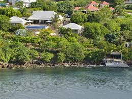 waterfront homes in st barts