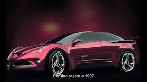 138. Pontiac rageous 1997 (Prototype Car) - YouTube