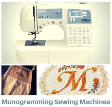 Monogramming With Sewing Machine