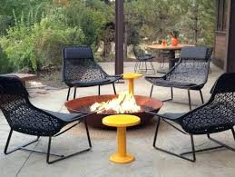 elegant outdoor chairs for fire pit interesting design and a