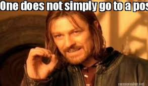 Meme Maker - One does not simply go to a posh party Meme Maker! via Relatably.com