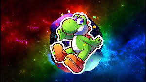 my hd galaxy yoshi wallpaper