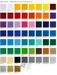 Oracal 651 Color Chart Oracal 651 Intermediate Cal Hlt Material Sdn Bhd