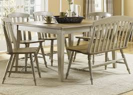 Taupe Dining Room Chairs Rectangle Casual Dining Table With Driftwood Amp Taupe Finish