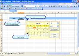 microsoft excel calendar pop up excel calendar date picker for excel excel invoice manager