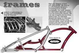 stretch chopper build sources bikes parts build list s