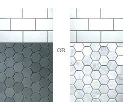 grey hexagon tile bathroom hexagon bathroom tile idyllic ideas about hexagon tile bathroom on bathroom hexagon