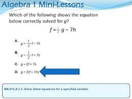 4 algebra