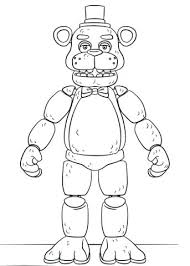 Fnaf Coloring Pages Toy Golden Coloring Page Fnaf Sister Location