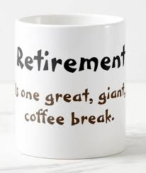 funny office mugs. wonderful funny coffee mug saying retirement is a huge coffee break  on funny office mugs v