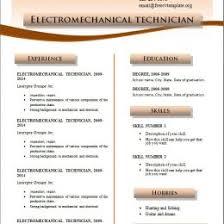 Free To Print Resume Templates Resume Templates Printable