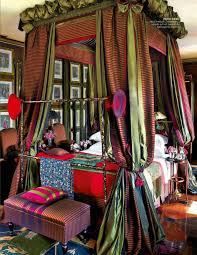 Unique canopy bed Gorgeous The Fiery Feeling Of Oriental Red Decoist Bohemian Bedroom Inspiration Four Poster Beds With Boho Chic Vibes