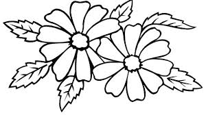 Flowering Coloring Pages Flower Pictures Coloring Pages Simple Color