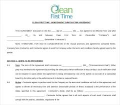 sample cleaning contract agreement cleaning agreement contract 2 cleaning contract template