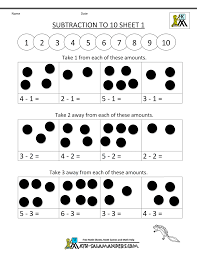 Collection Of Math Worksheets Basic Addition And Subtraction ...
