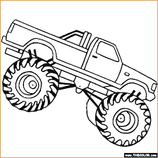Grave Digger Coloring Pages Grave Digger Coloring Pages Awesome