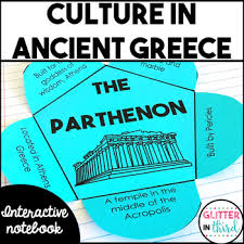 Hellenistic Culture And Roman Culture Venn Diagram Answers Ancient Greece Culture Contributions Interactive Notebook